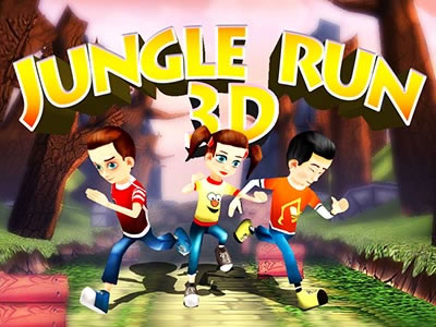 3D Jungle Run