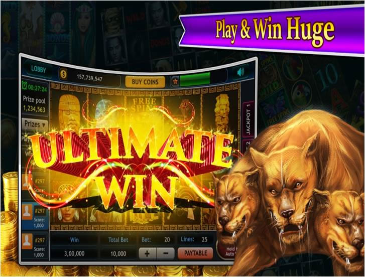 Play Slots and Win Huge!