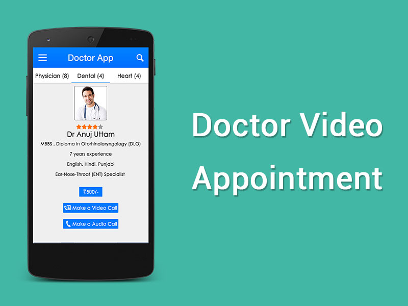 Video Calling Apps for Doctor