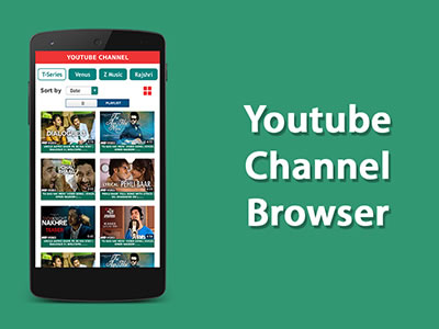 Youtube Channel Browser